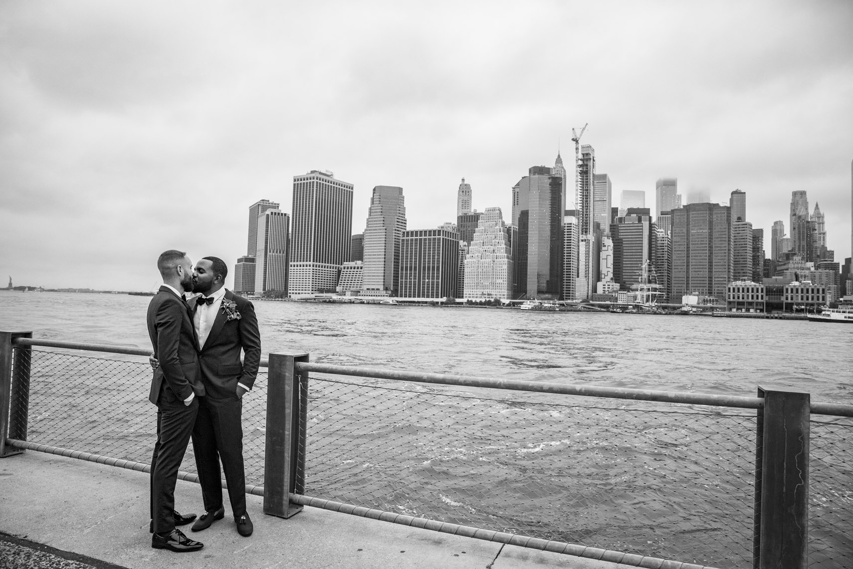 1 Hotel Brooklyn Bridge same sex wedding
