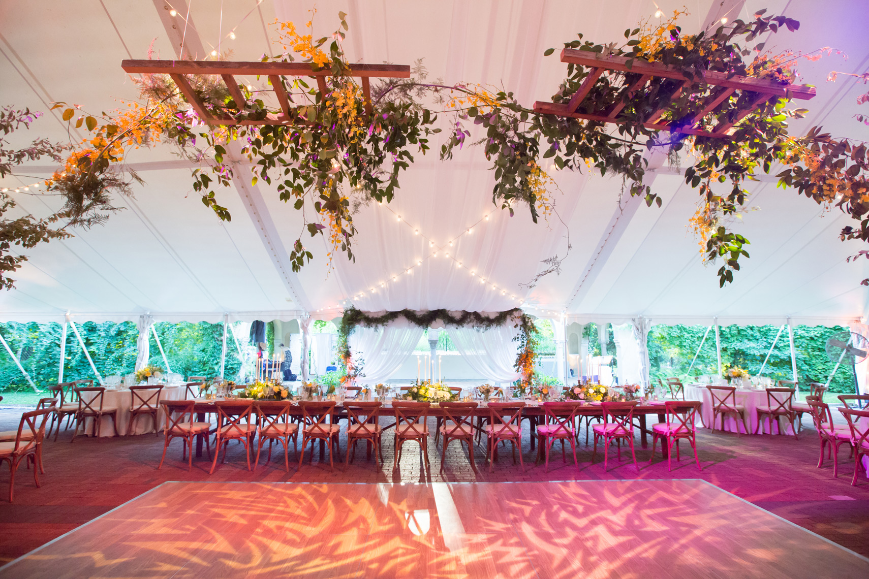 Caramoor Wedding reception