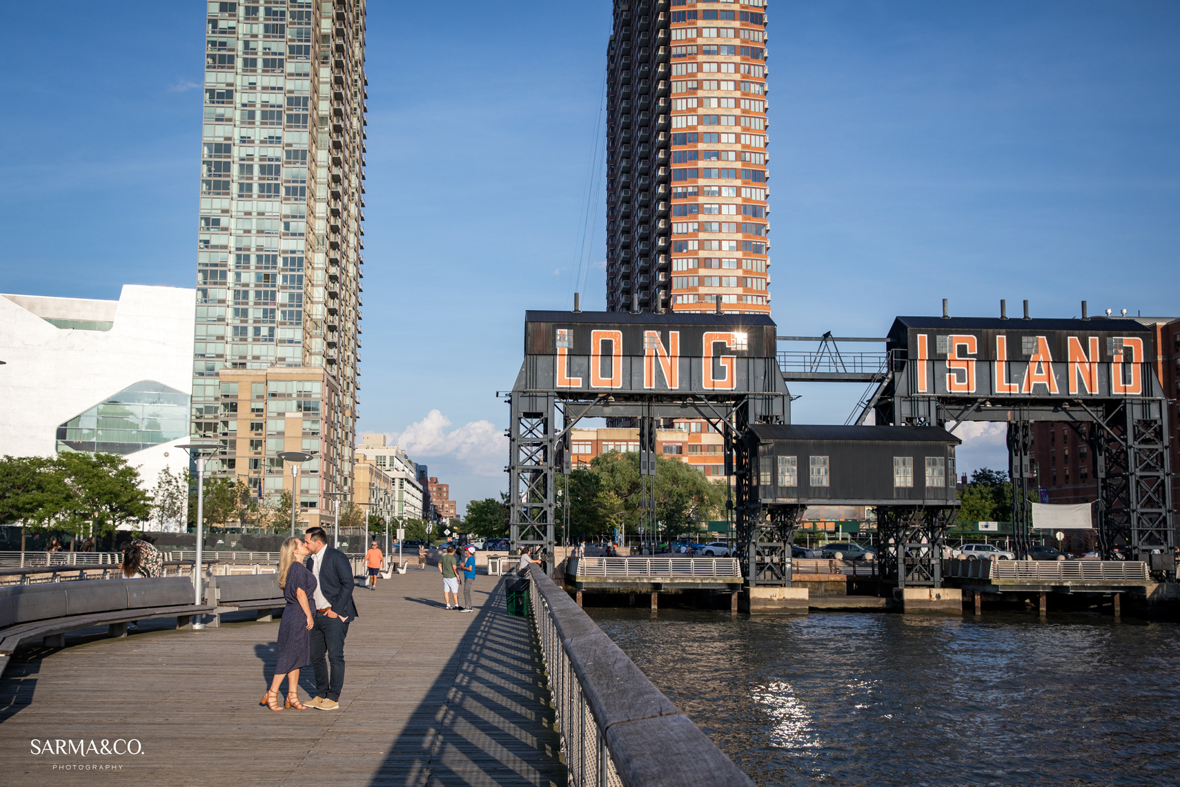 Long Island City Engagement Session Sarma and Co. Photography