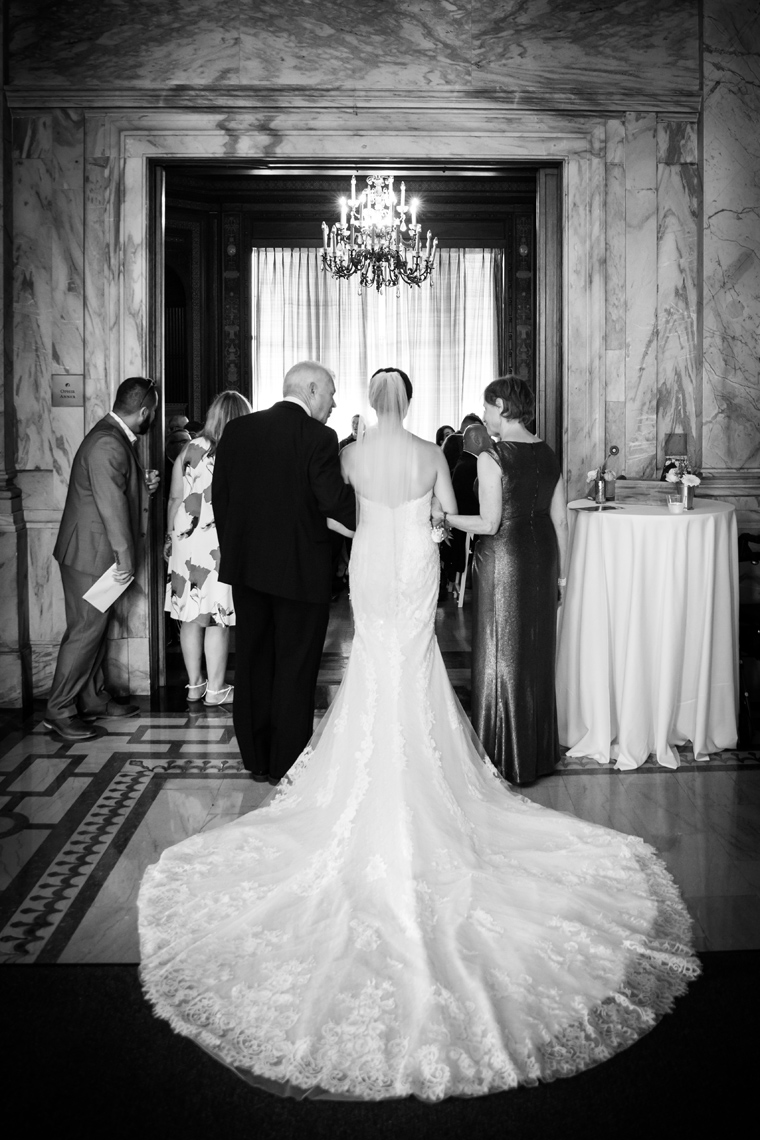 Summer Wedding at Reid Castle Manhattanville