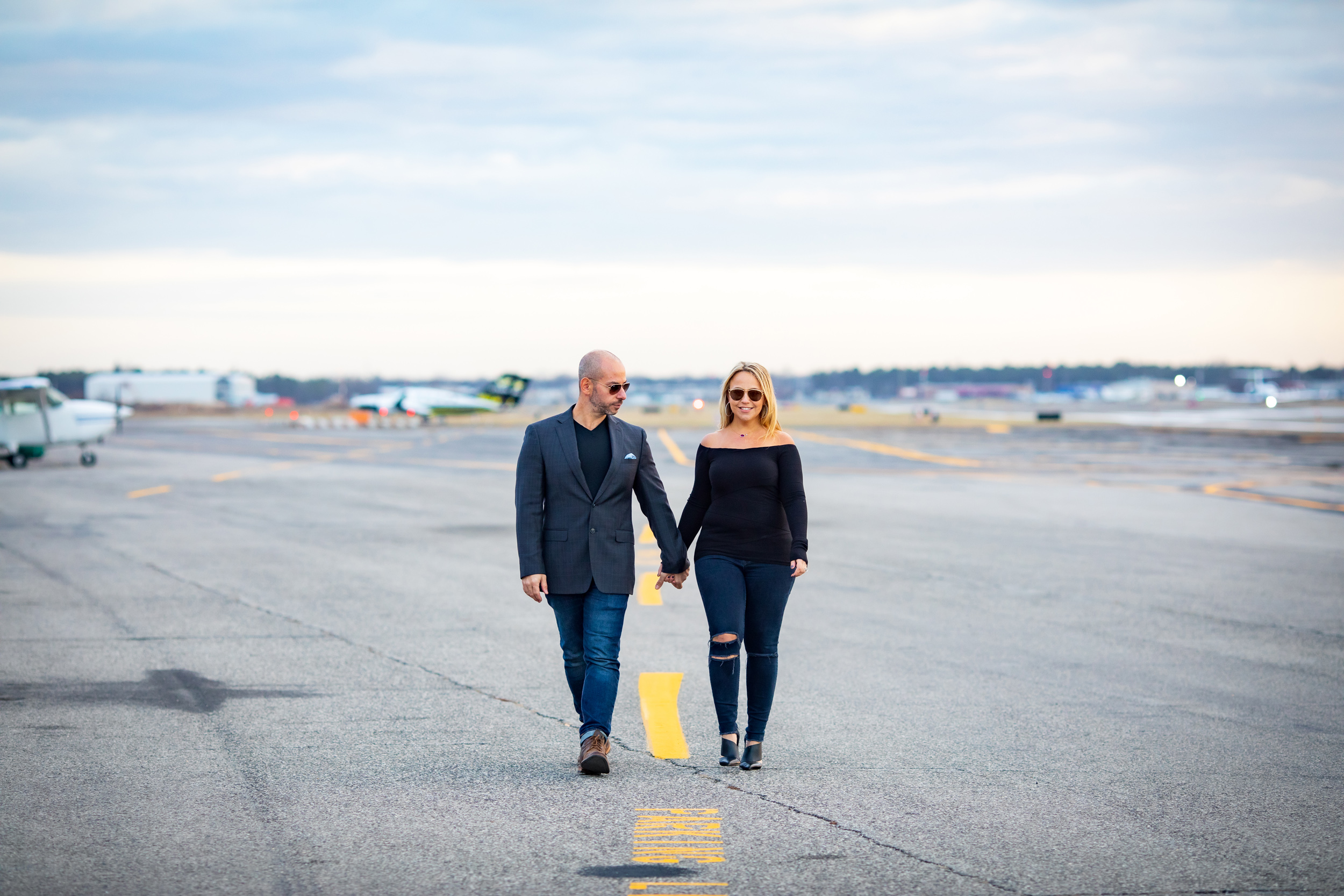 Engagement Session at Museum of Airpower